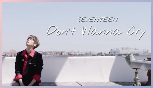【SEVENTEEN】「Don't Wanna Cry」MV衣装ブランドまとめ!